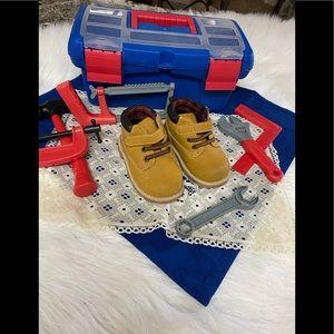 🎉HP🎉 Garanimals Hiking Boots Toddler size 6